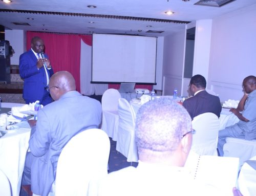 TVETA Director -General and staff hold a breakfast meeting with KATTI