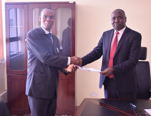 TVET Authority Director-General signs performance contracts with Heads of Departments