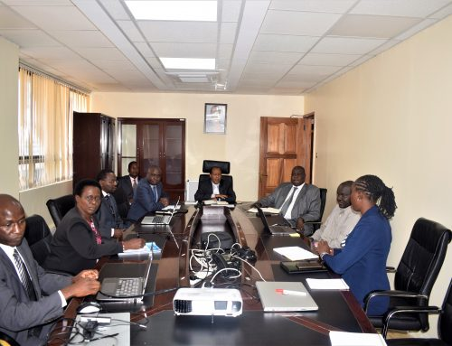 Vocational and Technical Training PS Dr Julius Jwan meet TVETA Board and staff