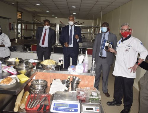 TVETA Director General and Ministry Officials Assess Preparedness of Boma International Hospitality College