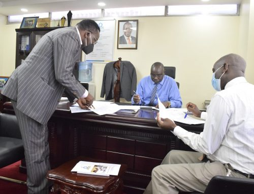 TVETA DG signs performance contracts with section heads for the Financial Year 2020/21