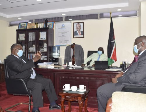 TVETA DG guides Kenya Institute of Bankers to transit to a Centre of Excellence