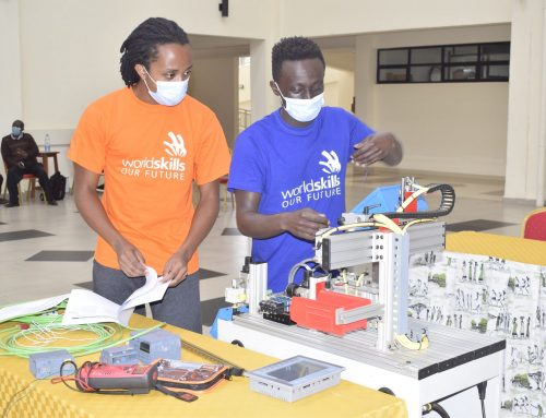 Day Three of WorldSkills Kenya Mechatronic Competition: TVET institutions face-off with university teams